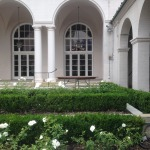 Ebell: a manicured garden space