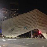 The Broad Museum without its uplit facade