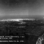 Los Angeles from Mt. Wilson 1908