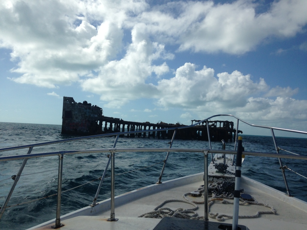 Wreck of the Sapona