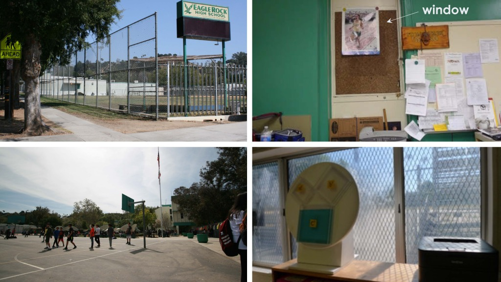 Eagle Rock High School environments