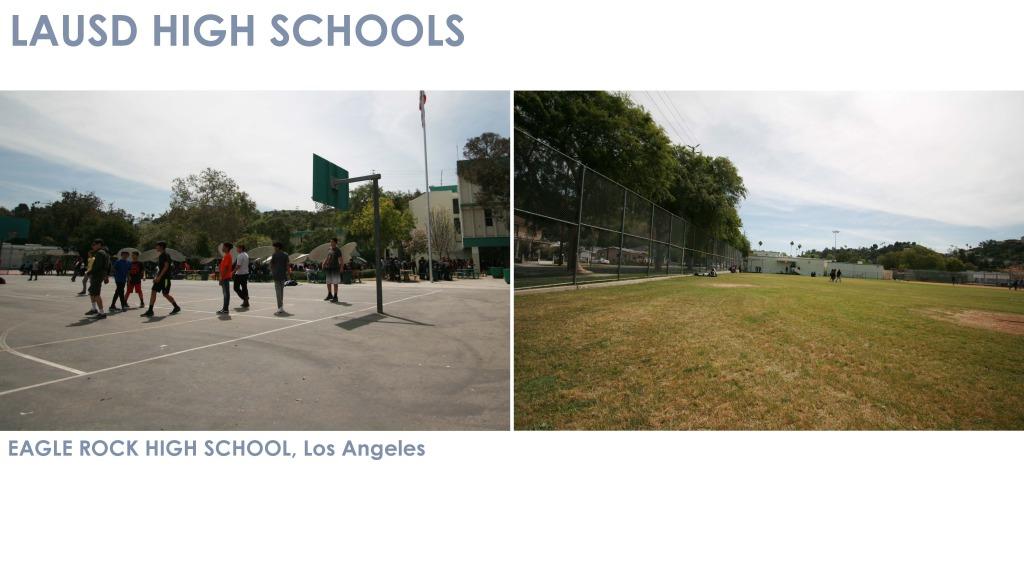Wide Open Views in High Schools